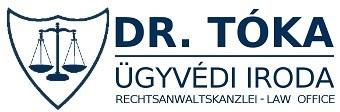 Dr. Tóka Ügyvédi Iroda Logo